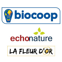 Biocoop Echonature et La fleur d'or